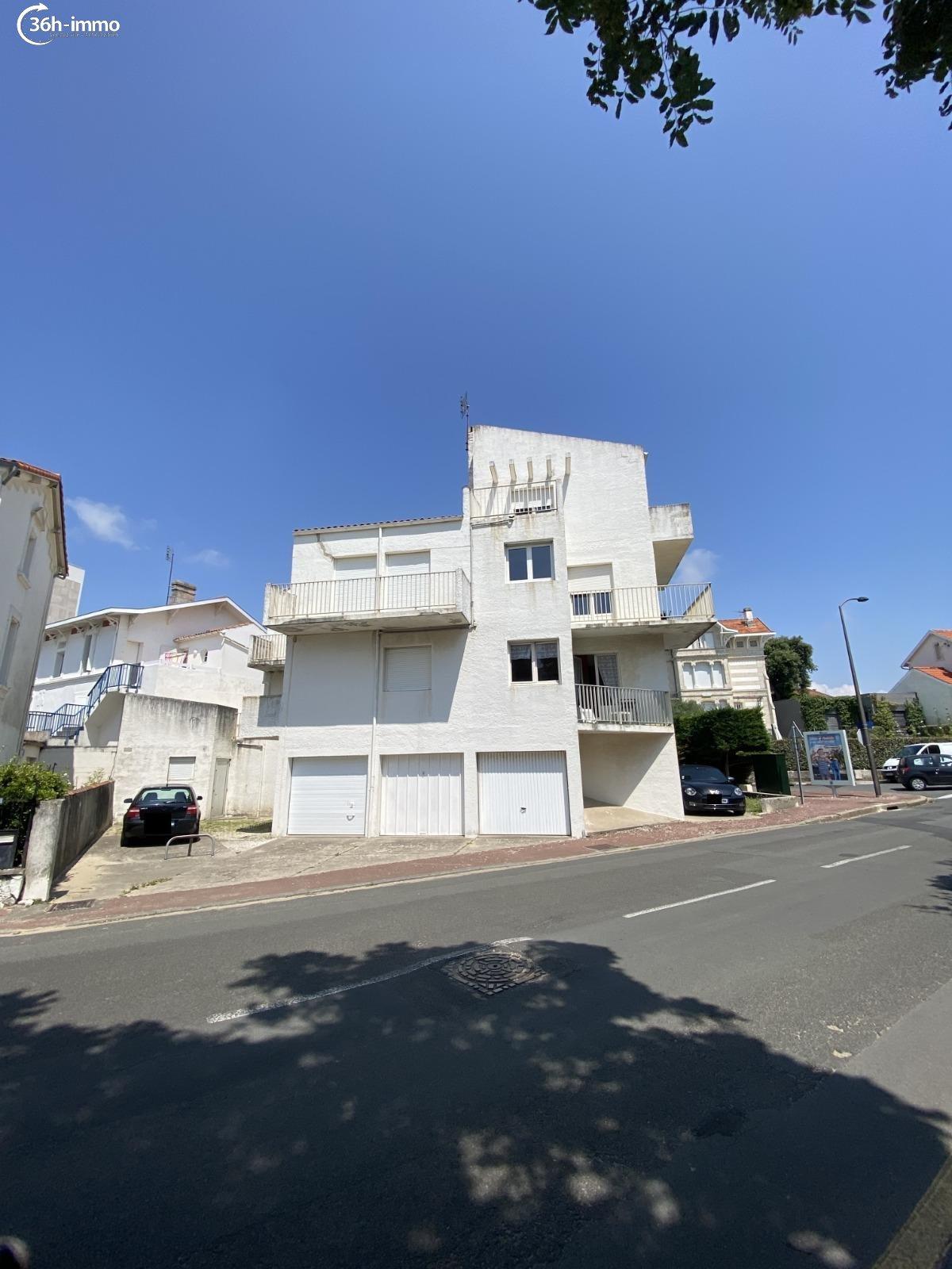 Appartement Royan 17200 Charente-Maritime 23 m<sup>2</sup> 1 pi&eagrave;ce 105000 euros