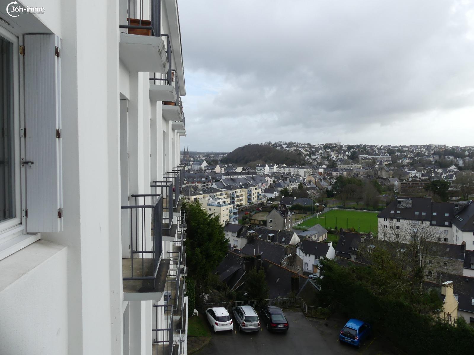 Appartement Quimper 29000 Finistere 58 m<sup>2</sup> 3 pi&eagrave;ces 48250 euros