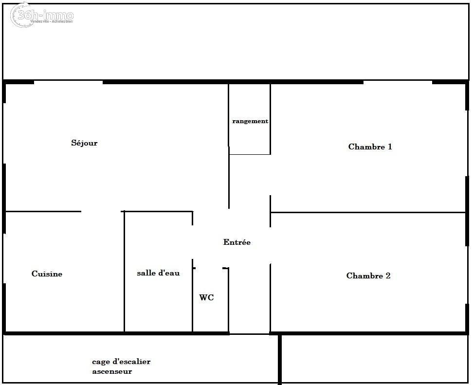 Appartement Paris 13e arrondissement 75013 Paris 50 m<sup>2</sup> 3 pi&eagrave;ces 380000 euros