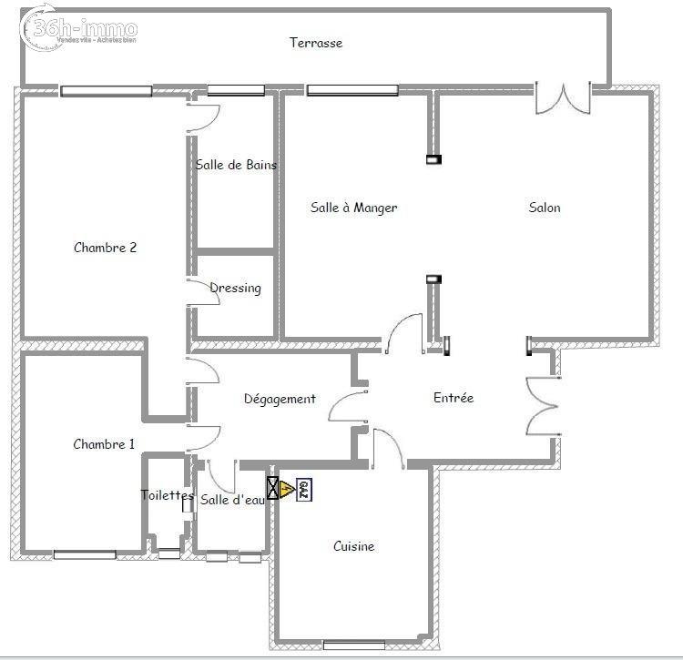 Appartement Paris 16e arrondissement 75016 Paris 126 m<sup>2</sup> 4 pi&eagrave;ces 1200000 euros
