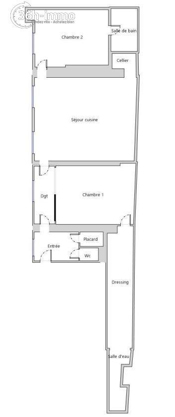 Appartement Paris 8e arrondissement 75008 Paris 103 m<sup>2</sup> 3 pi&eagrave;ces 1100000 euros