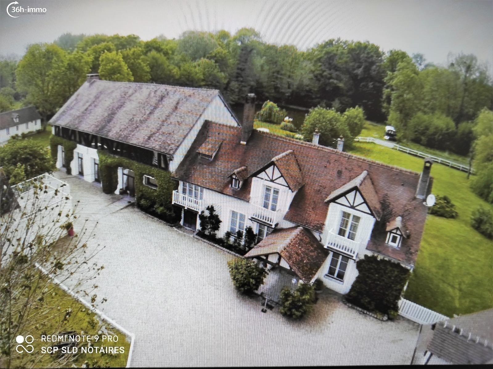 Propriété Amenucourt 95510 Val-d'Oise 800 m<sup>2</sup> 20 pi&eagrave;ces 1185000 euros