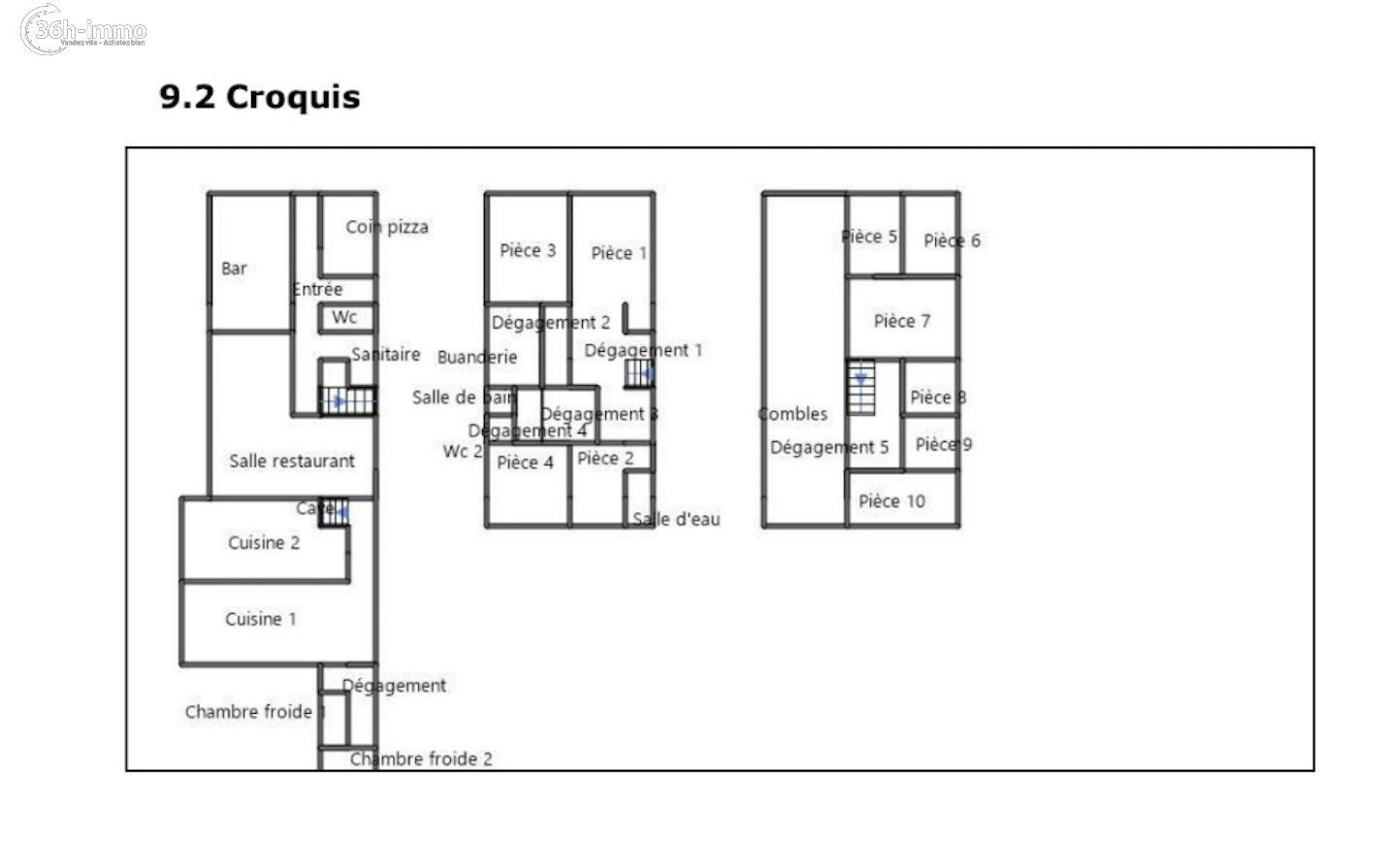 Immeuble Le Grand-Serre 26530 Drome 350 m<sup>2</sup> 20000 euros