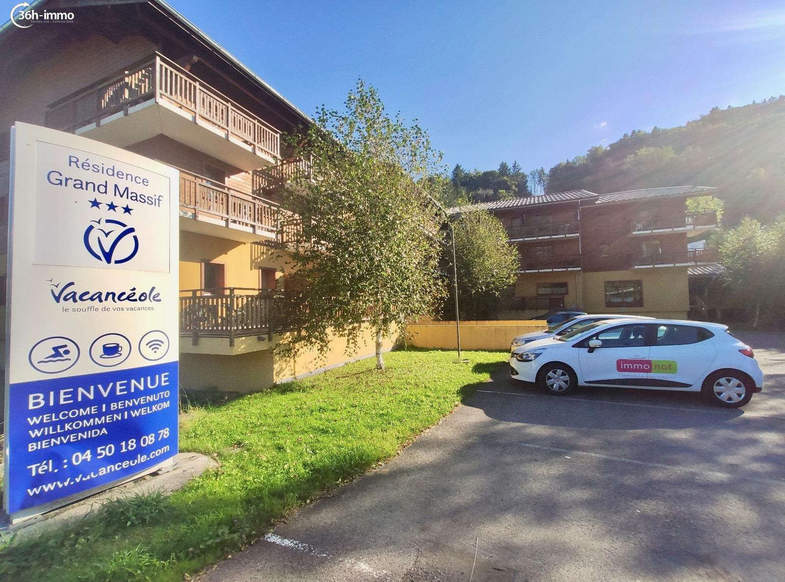 Appartement Morillon 74440 Haute-Savoie 22 m<sup>2</sup> 1 pièce 35000 euros