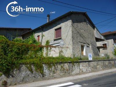 Maison a vendre Leyment 01150 Ain 98 m2 3 pièces 65000 euros