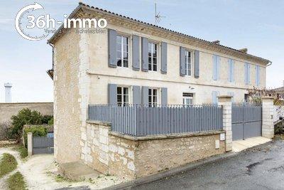 Maison a vendre Chenac-Saint-Seurin-d'Uzet 17120 Charente-Maritime 135 m2 5 pièces 249100 euros