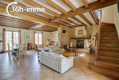 Maison a vendre Saint-Girons-d'Aiguevives 33920 Gironde 212 m2 7 pièces 381600 euros