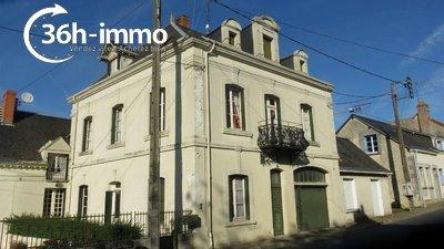 propriete a vendre Écueillé 36240 Indre 260 m2 10 pièces 40500 euros