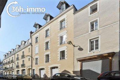 Appartement a vendre Nantes 44000 Loire-Atlantique 24 m2 1 pièce 65000 euros