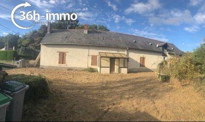 Maison a vendre Le Plessis-Grammoire 49124 Maine-et-Loire 240 m2 4 pièces 70000 euros