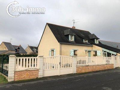 Maison a vendre Verrières-en-Anjou 49480 Maine-et-Loire 132 m2 6 pièces 199000 euros