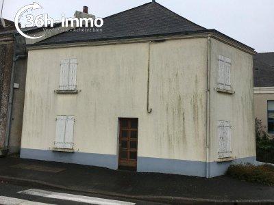 Maison a vendre Saint-Laurent-de-la-Plaine 49290 Maine-et-Loire 47 m2 3 pièces 9900 euros