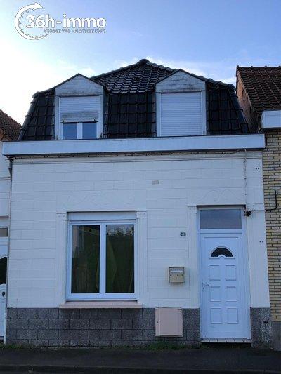 Maison a vendre Hazebrouck 59190 Nord 4 pièces 66000 euros