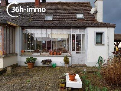 Maison a vendre Saint-Usuge 71500 Saône-et-Loire 82 m2 4 pièces 35000 euros