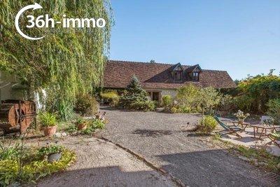 Maison a vendre Mur-de-Sologne 41230 Loir-et-Cher 266 m2 10 pièces 286200 euros