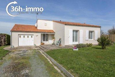 Maison a vendre Moëze 17780 Charente-Maritime 86 m2 4 pièces 171200 euros