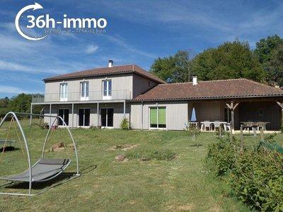 Maison a vendre Saint-Martial-de-Nabirat 24250 Dordogne 375 m2 15 pièces 181900 euros
