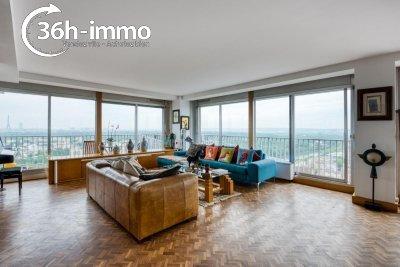 Appartement a vendre Puteaux 92800 Hauts-de-Seine 110 m2 5 pièces 749000 euros