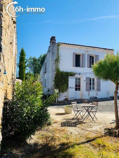 Maison a vendre Montpellier-de-Médillan 17260 Charente-Maritime 75 m2 4 pièces 98100 euros